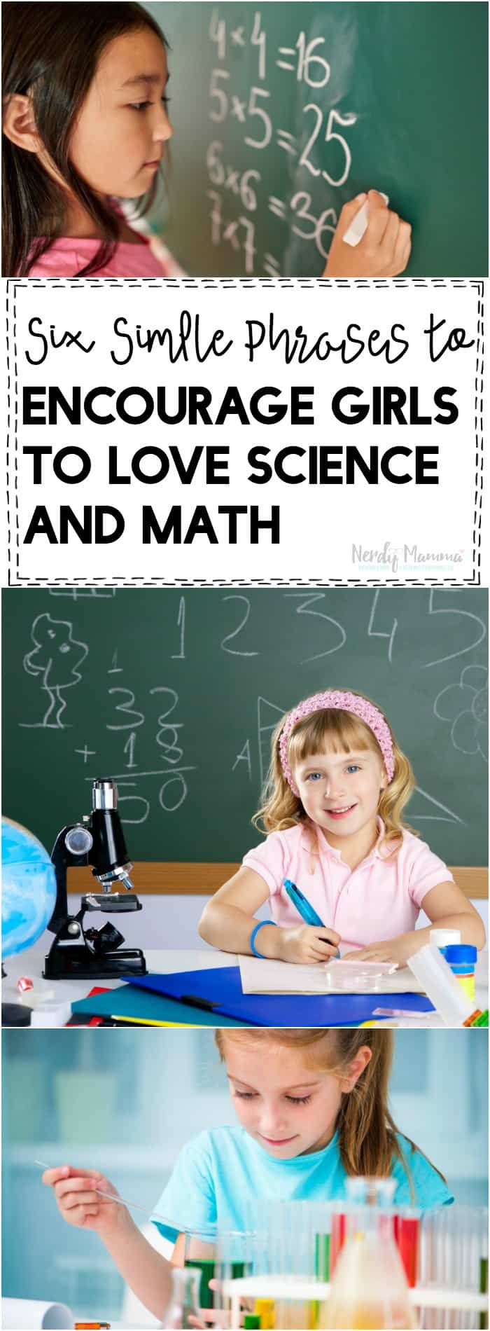 What Research Says About. . . / Encouraging Girls to Pursue Math and Science