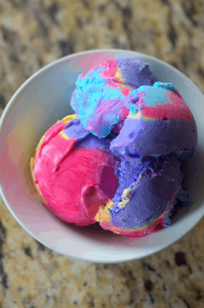 Vegan Unicorn Ice Cream