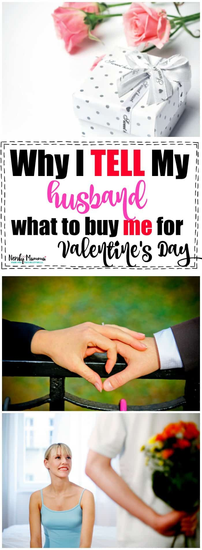 Why I tell my husband what to buy me for Valentine's Day - Totally rational reasons. I promise.