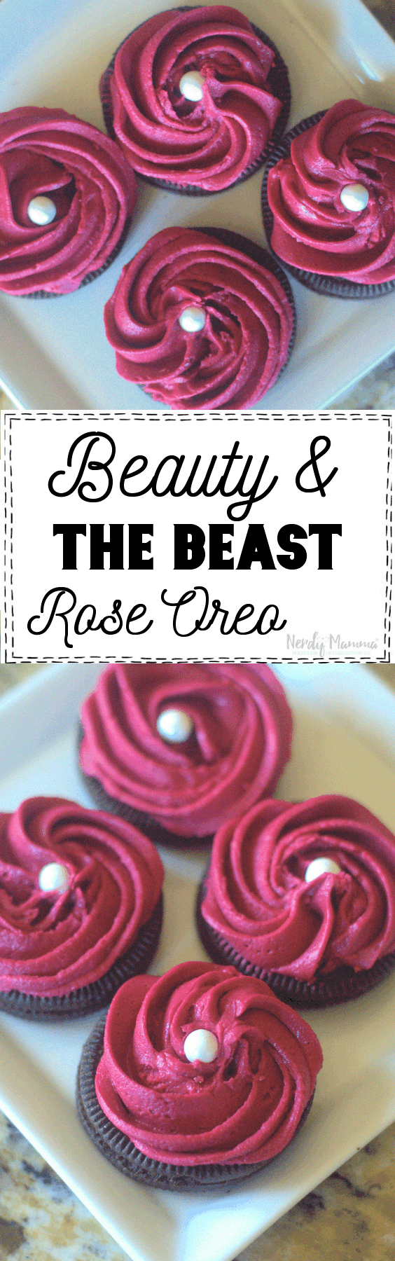 Beauty and The Beast Oreos