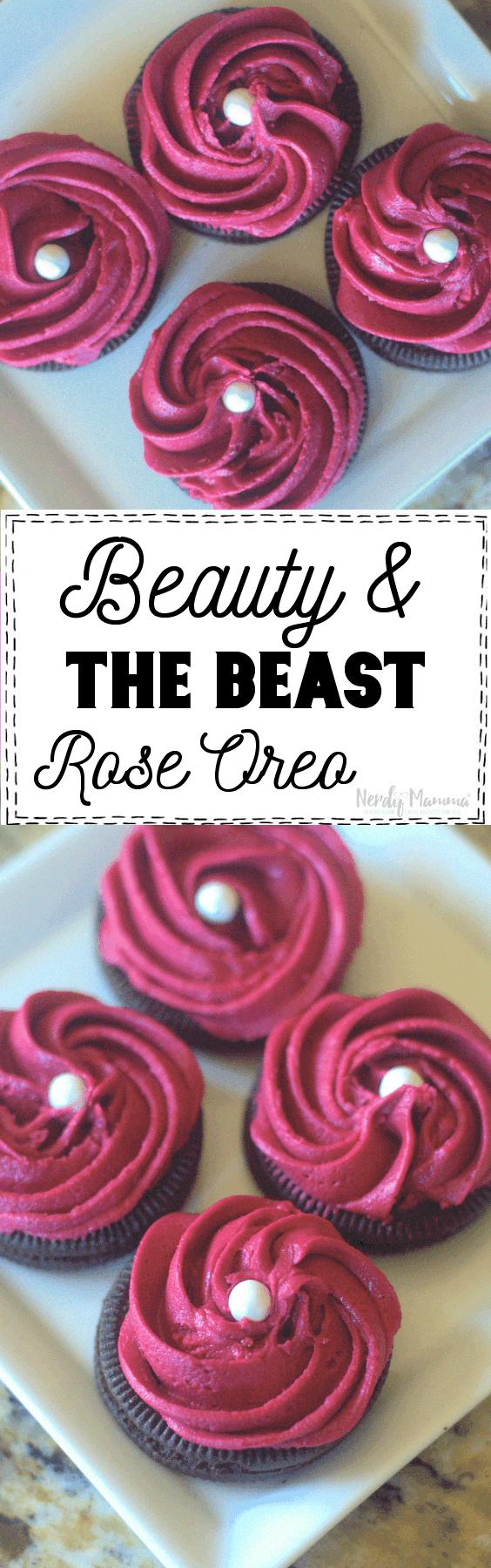 Beauty and The Beast Oreos