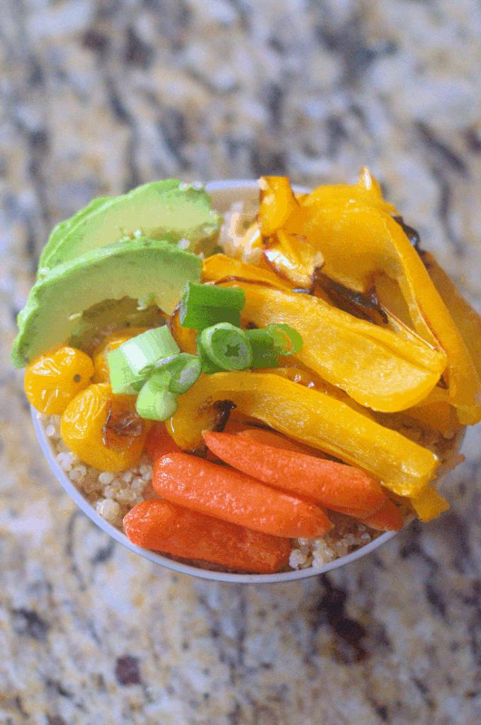 Roasted Vegetable Buddha Bowl