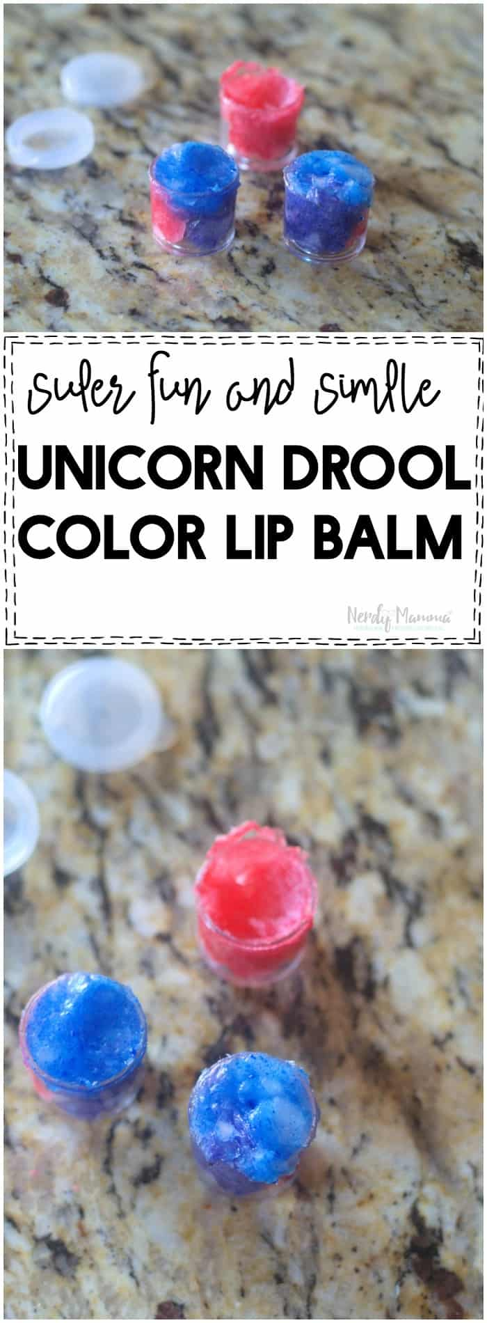 OMG! This unicorn lip balm is AMAZEBALLS! You have to try it!
