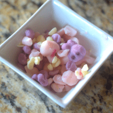 One Ingredient Unicorn Bite Treats