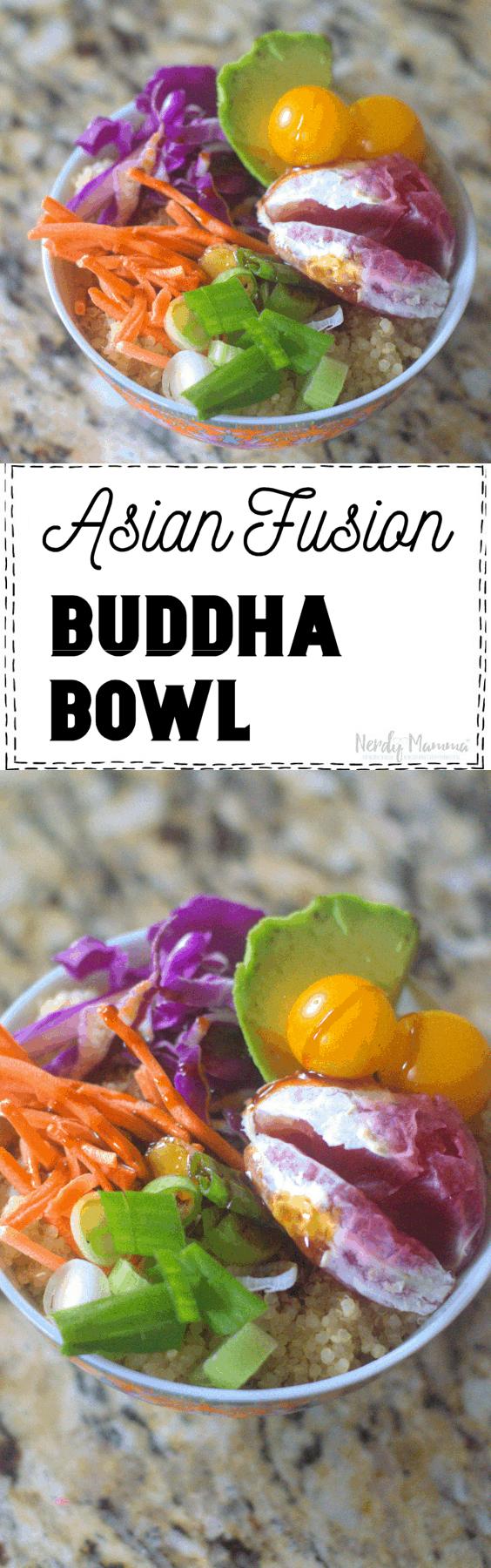 Asian Fusion Blood Orange Buddha Bowl