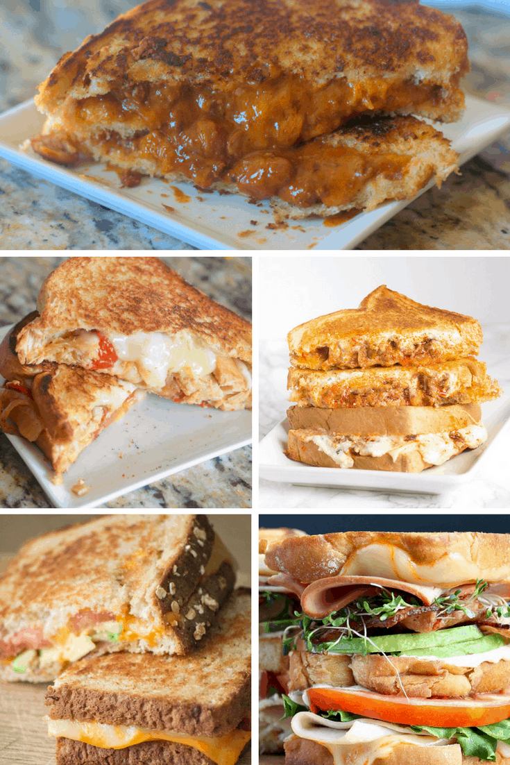 Seriously Gorgeous Grilled Cheese Sandwiches