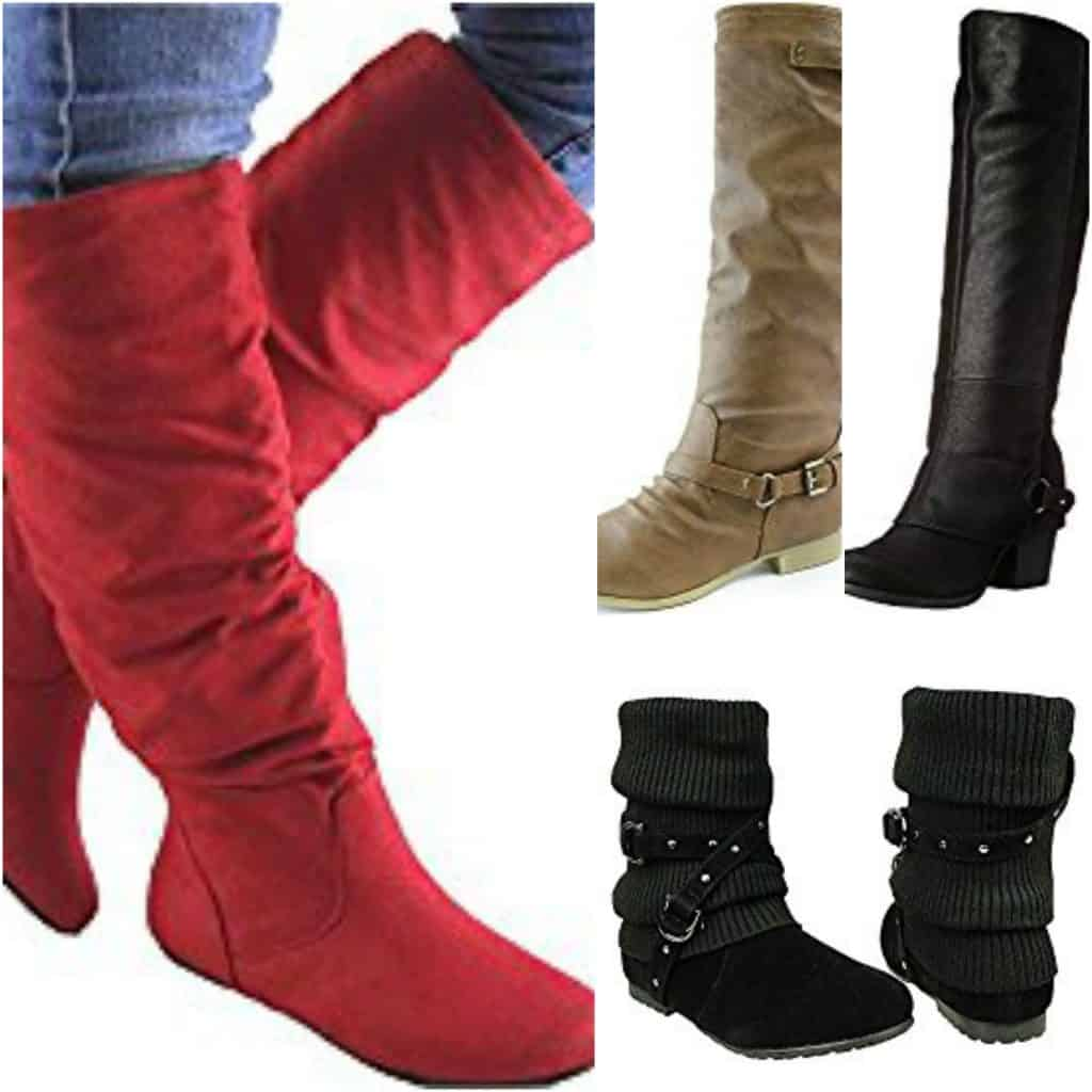 OMG These boots are PERFECT to wear with leggings!