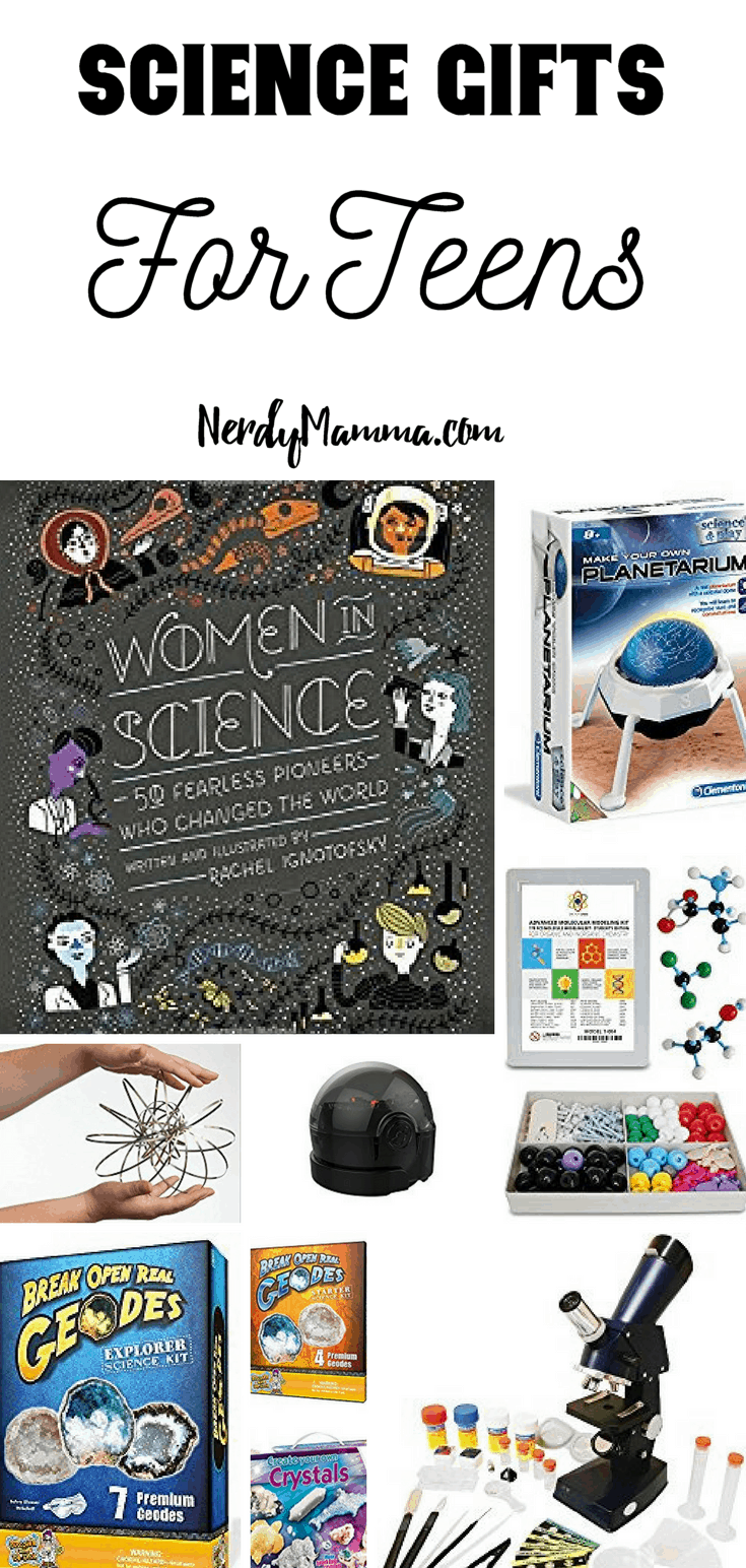 The gift of science isn't just a gift you can give at the holiday's or even just a birthday. It's that one gift you can get just for the fun of it. Fun projects to do over spring break or summer. Science Gifts for Teens keep on giving long after the gift is giving. Enlightening a teens mind is one wonderfully way to pull them away from their phones for five minutes.