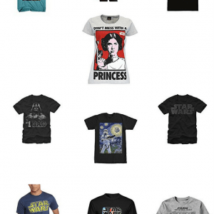 10 Must Have Star Wars T-Shirts