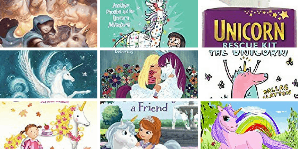 OMG! These unicorn books for kids are ADORABLE!