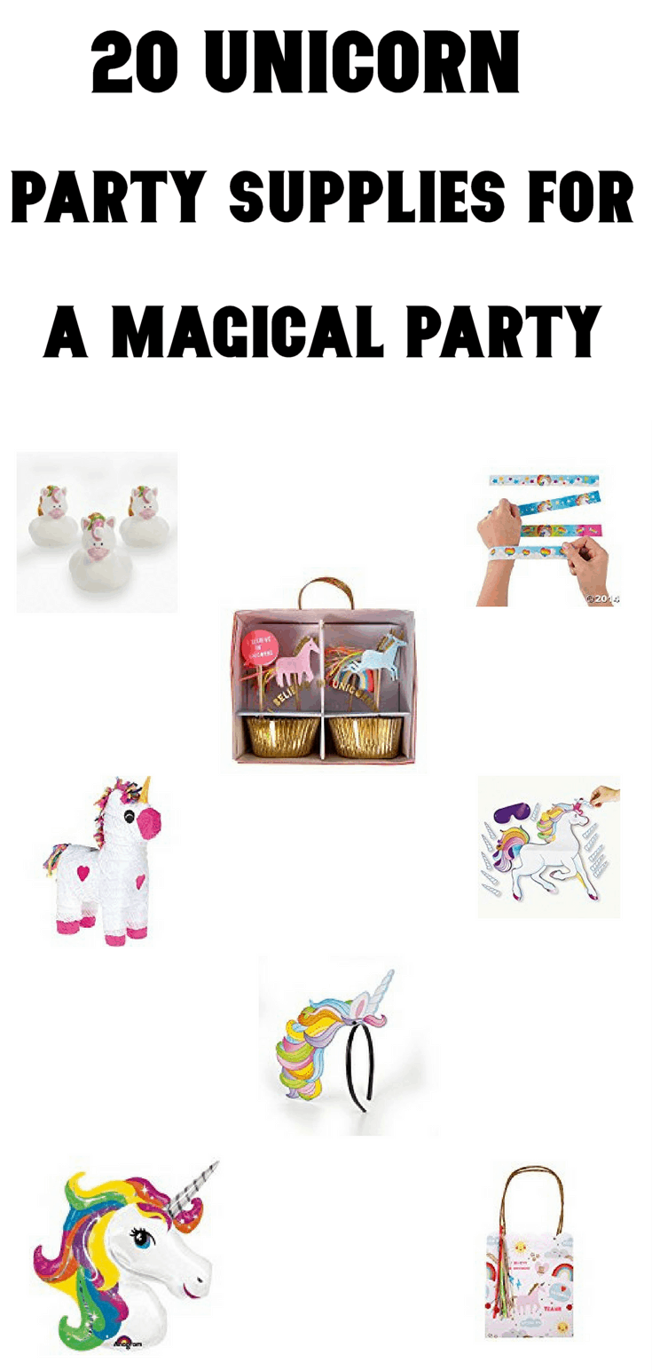 20 Unicorn Party Supplies For A Magical Party