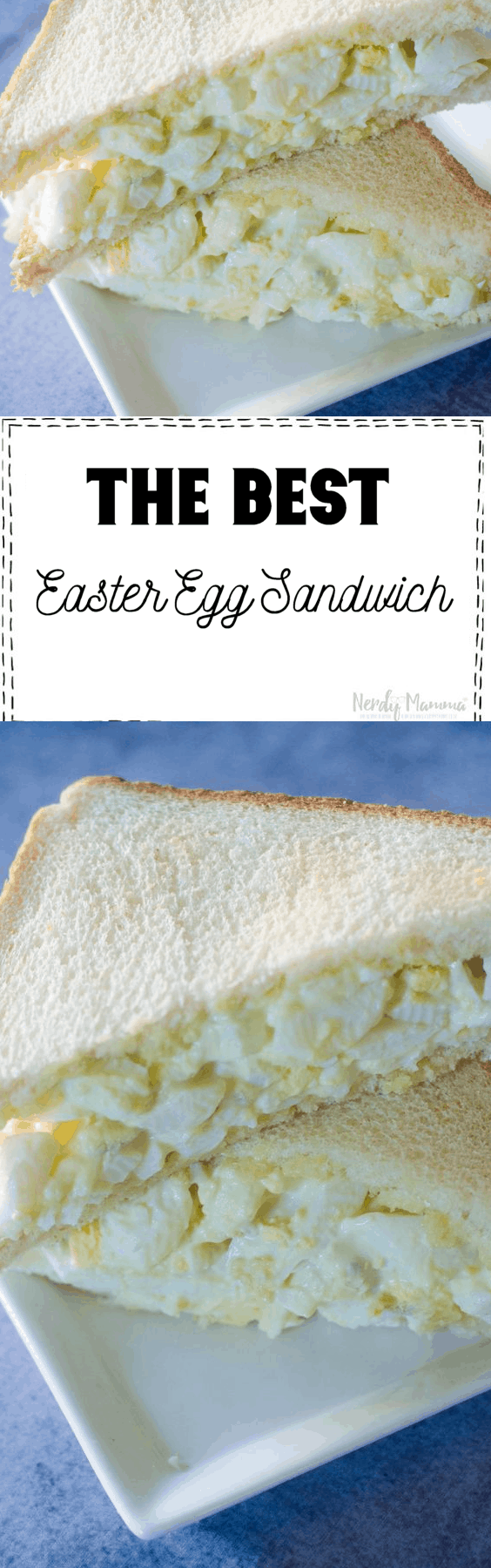 The Best Easter Egg Sandwich