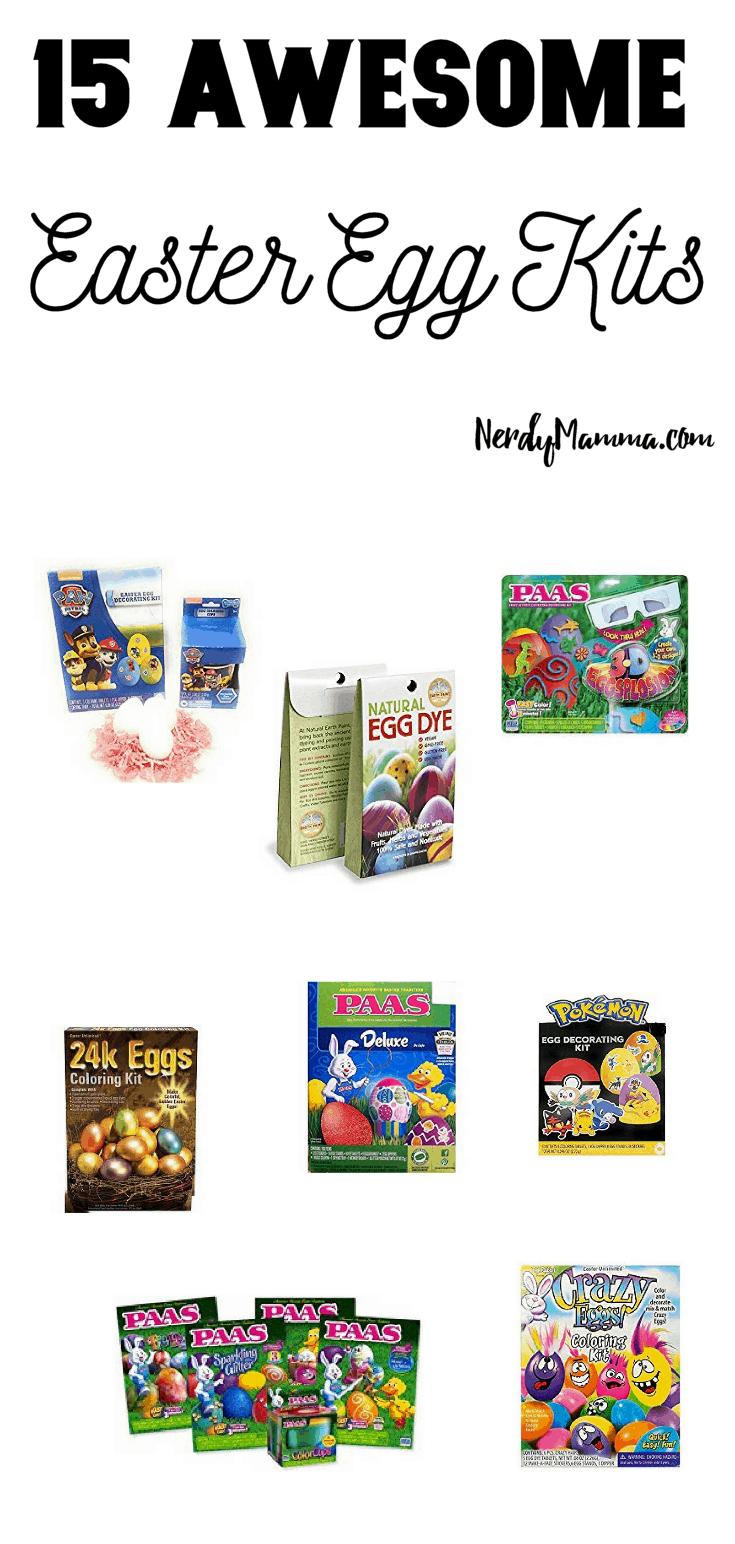 15 Awesome Easter Egg Kits
