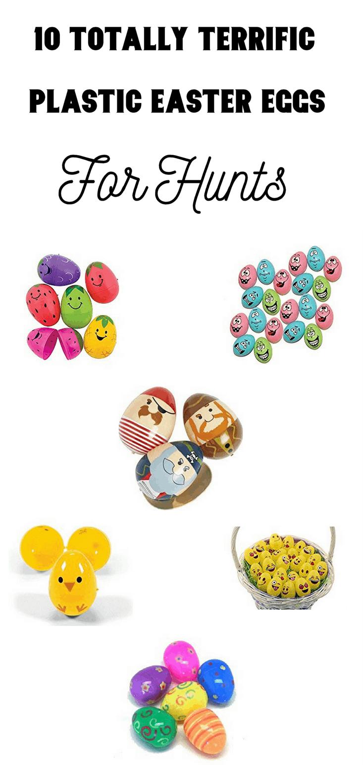 10 Totally Terrific Plastic Easter Eggs For Hunts