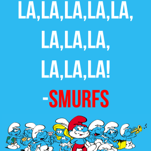 Smurf's Printable Party Pack