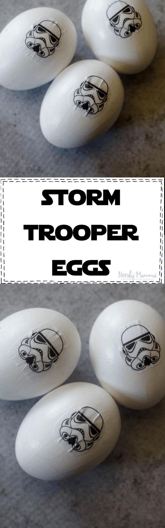 Storm Trooper Eggs