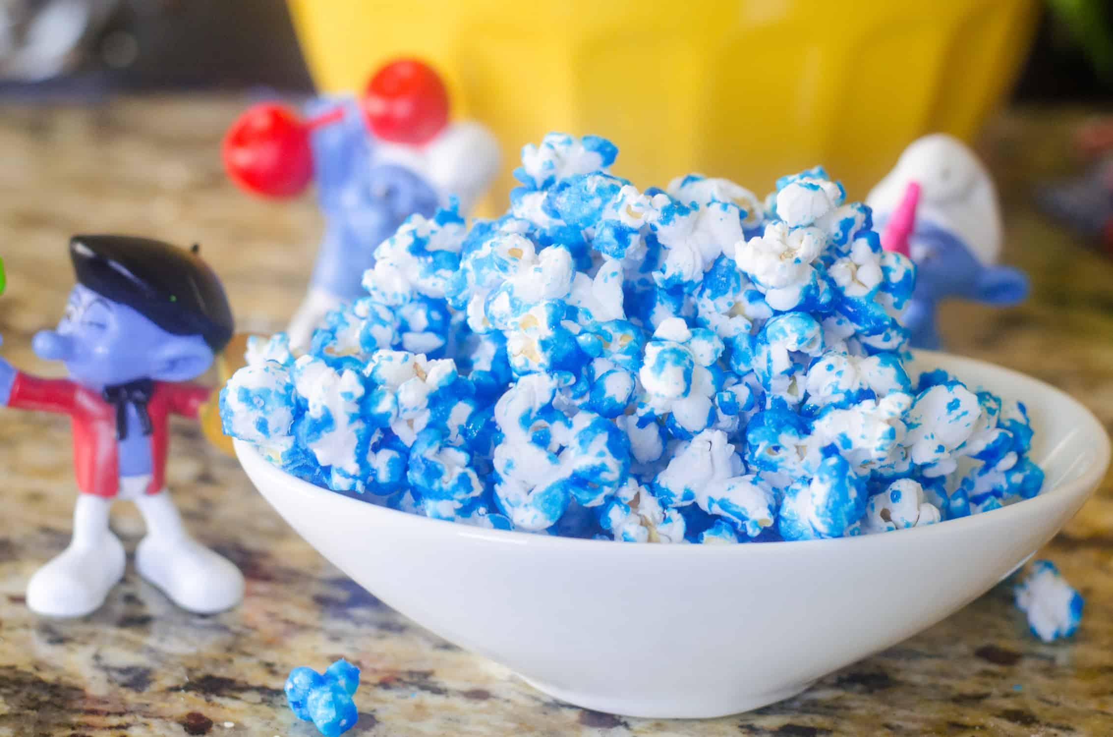 Smurf Popcorn