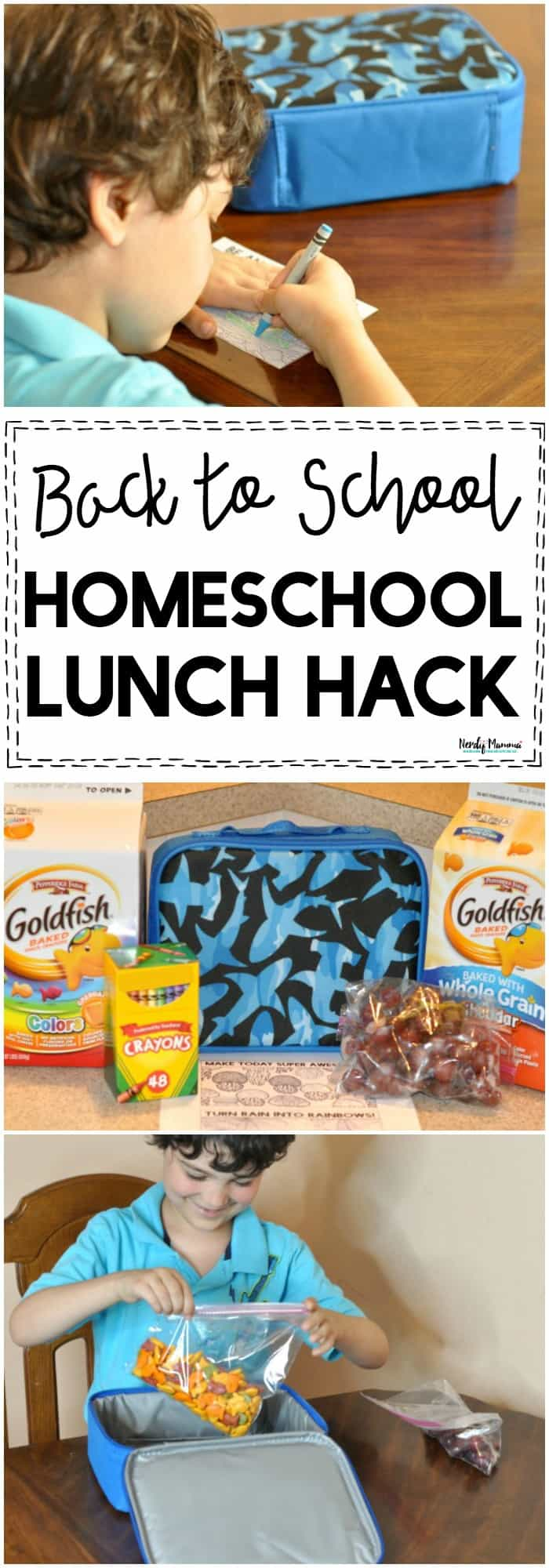 OMG this is THE BEST Back to School Homeschool Lunch Hack EVER! You've GOT to try this!