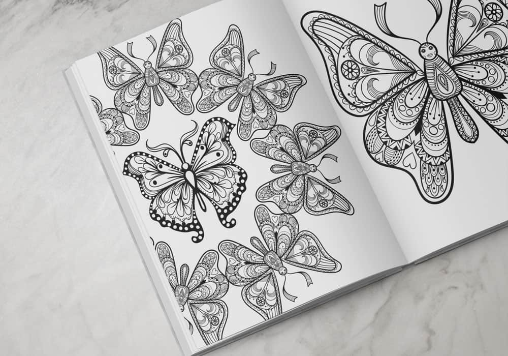100+ Ridiculously Fun Time-Killing Coloring Pages!