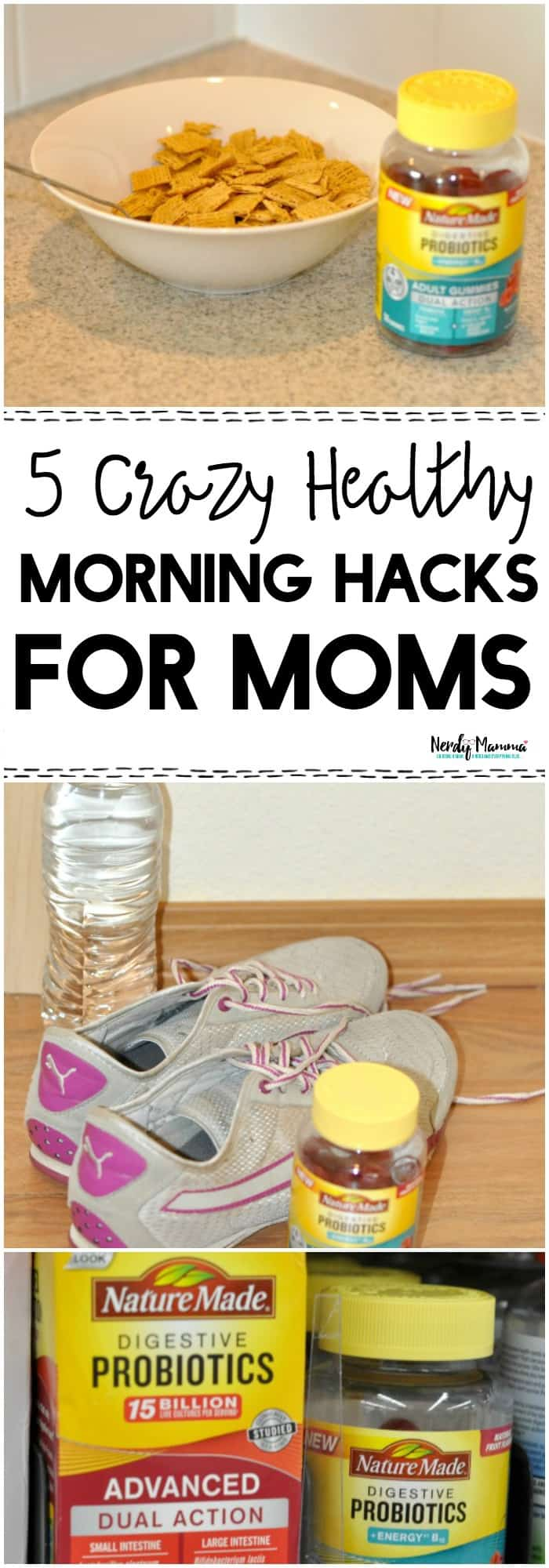 OMG, you have GOT to read these 5 crazy healthy morning hacks for busy moms!!
