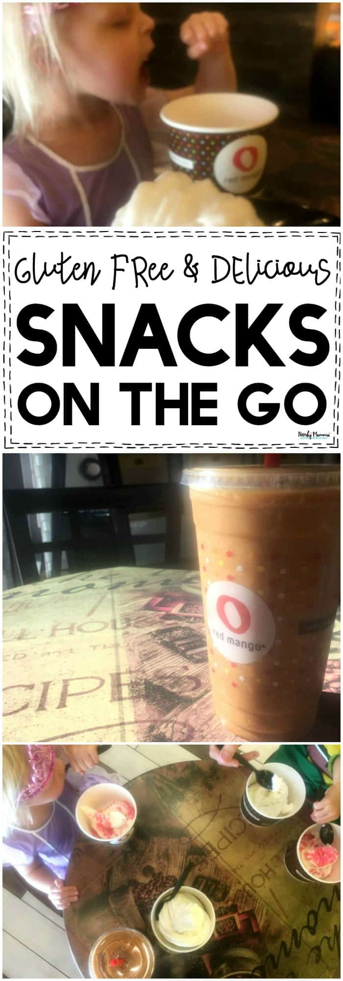 OMG! You've GOT to try these all-natural gluten free fall smoothies from Red Mango!!