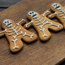 Delicious & Soft Halloween Skeleton Cookies