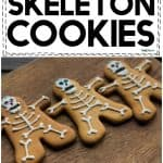 Ridiculously Soft & Delicious Skeleton Cookies!