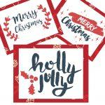 Totes Adorbs {AND FREE!} Merry Christmas Printable Wall Art