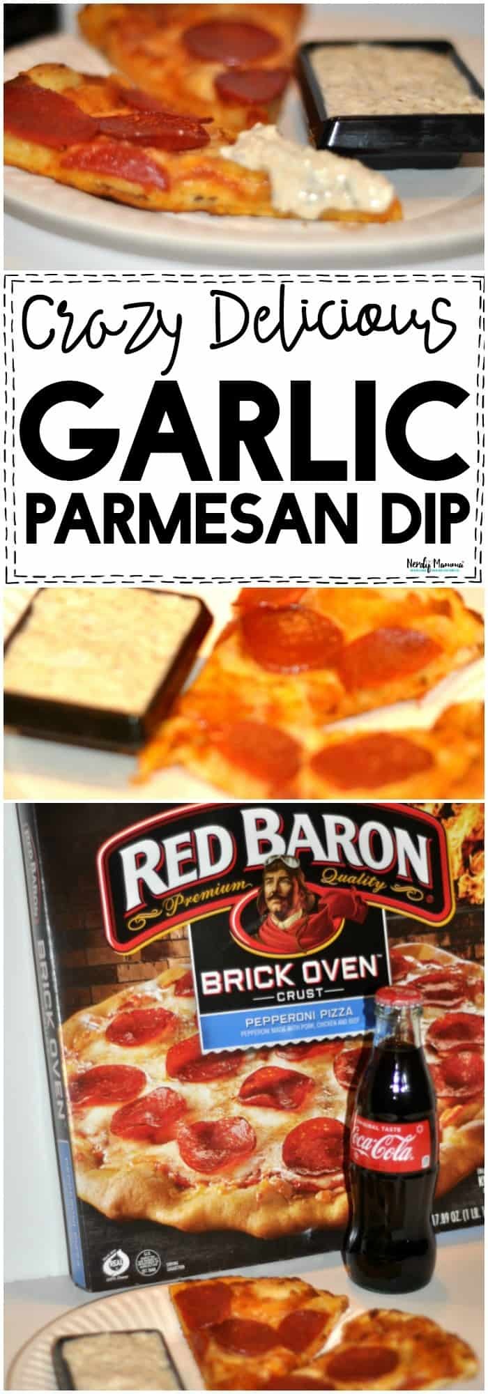 OMG you've GOT to check out this crazy delicious garlic parmesan dip for pizza night! #PizzaNight #Garlic #Parmesan #Dip #PizzaRecipe #Recipes  #GrabSomeCheer