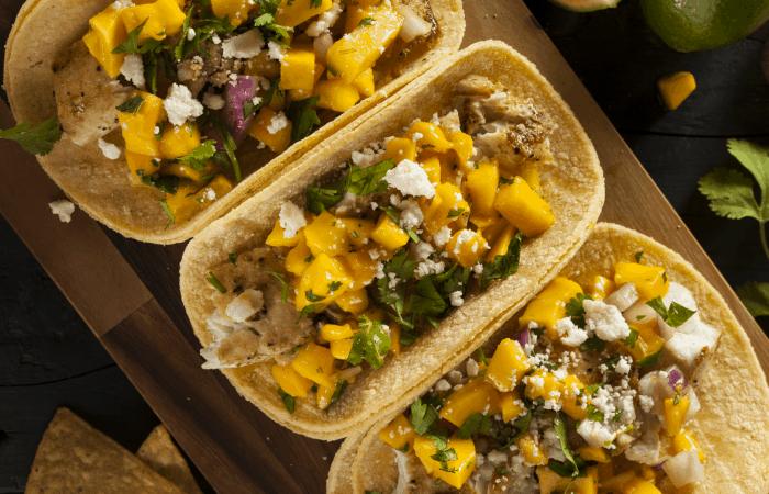 I absolutely adore this ridiculousy easy Baja Fish Taco recipe. So good. #taco #fishtaco #bajafishtaco #recipe #yummy #easyrecipe #eat #food