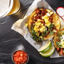 Instant Pot Chicken Jerk Tacos