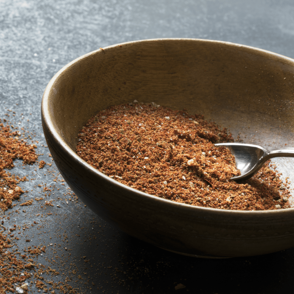 Oh, this homemade taco seasoning is so simple--and makes for a perfect taco every time. #taco #tacorecipe #tacoseasoning #tasty #food #foodporn