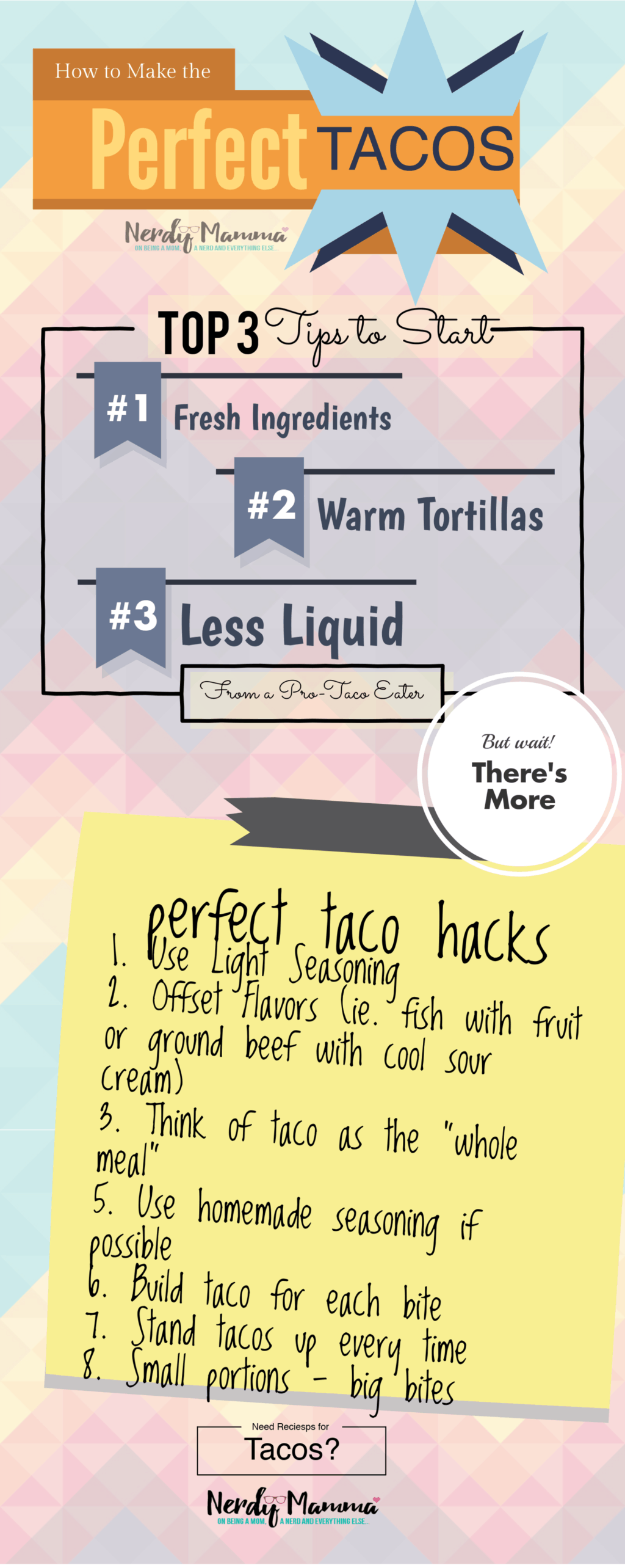 These hacks for making the perfect taco are so spot on! Gotta try 'em all! #hacks #taco #easy #tricks