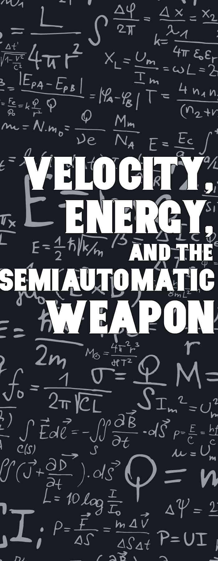 semi-automatic weapon