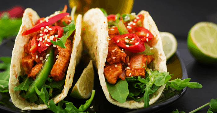 this Instant Pot taco recipe makes the best Buffalo Chicken Tacos