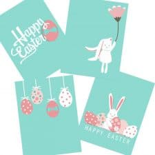 6 Free Printable Easter Wall Art Posters