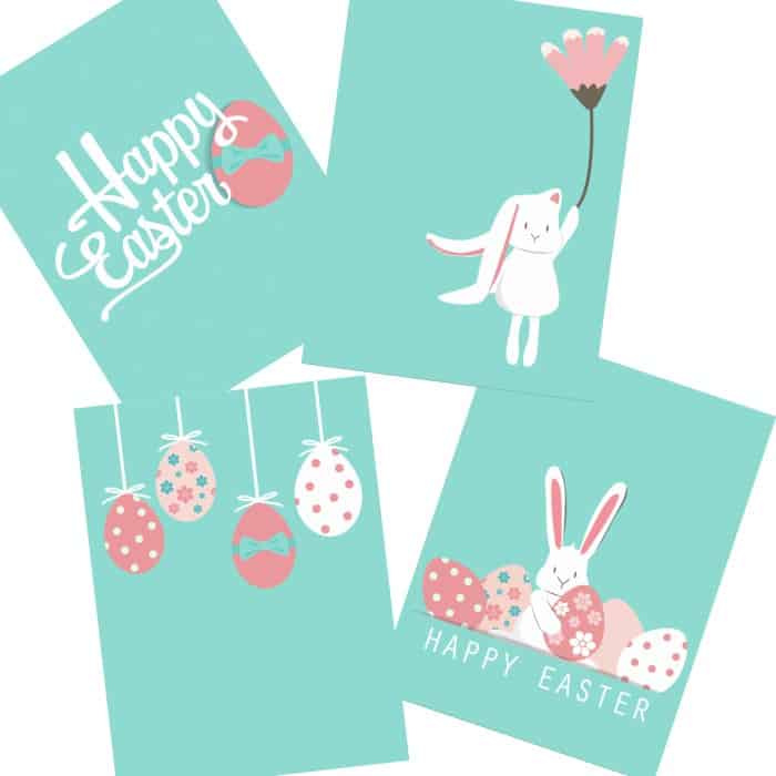 free printable easter wall art poster