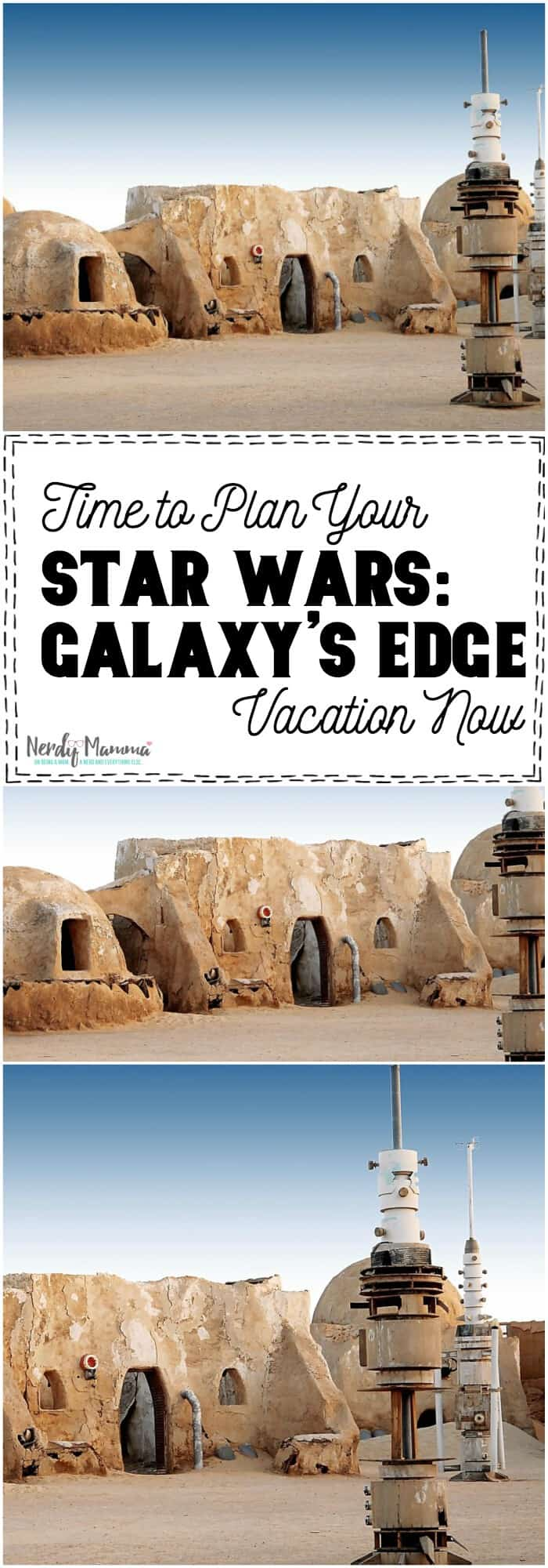 Wow. It seriously is time to plan our Star Wars: Galaxy's Edge Vacation!