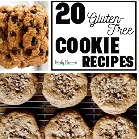I love cookies. To a ridiculous level. But living gluten-free, well...cookies can sometimes take a back seat. But no more. These 20 Gluten-Free Cookies are all amazing, totally easy and basically the best out there for the gluten-free cookie lover in you. #nerdymammablog #recipe #recipes #roundup #gluten-free #glutenfree #cookie #cookies #glutenfreerecipe #gulentfreerecipes #glutenfreecookies #gluten-freecookies #glutenfreecookie