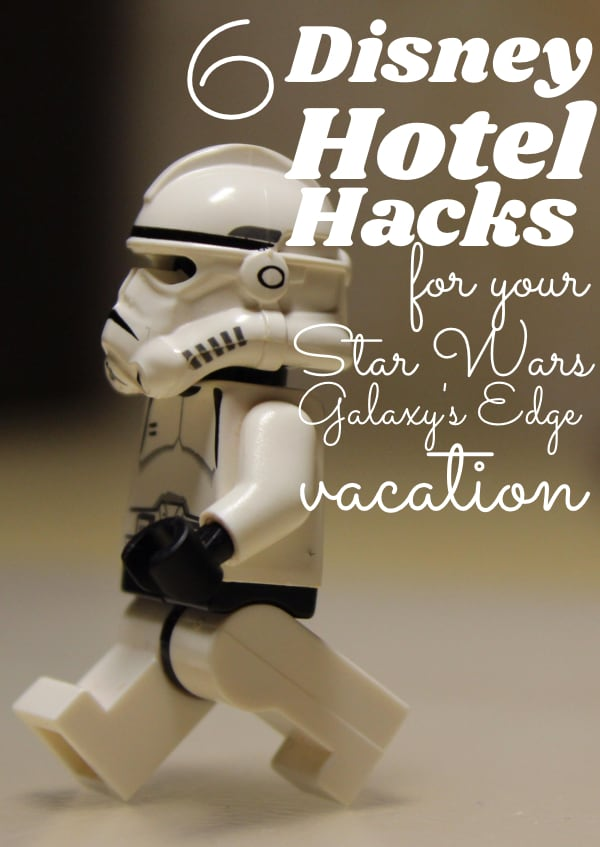 If you're planning yourStar Wars: Galaxy's Edge vacation, you're going to want to check out these 6 Disney Hotel Hacks. Because staying at Disney ain't cheap--but with these Disney Resort hacks, maybe your time at the galaxy's edge won't be the end of your wallet. #nerdymammablog #starwars #disney #disneyhotelhacks #starwarsdisney #disneyworldstarwars #starwarsdisneyworld #starwarsvacation #disneyvacation #hotelhacks #starwarsdisneyhacks