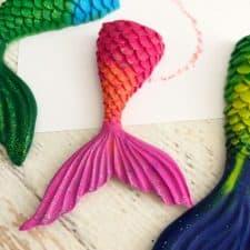 Easy DIY Mermaid Crayons