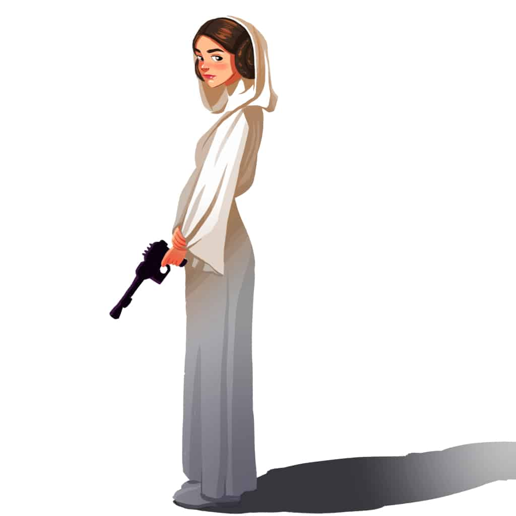 The best of us. The best princess, the best fighter, the best leader and, undoubtably, the best sister. Ever. One could even argue that her role was the more pivotal of any other character from the original main characters from the first movies. Someone in your life needs one of these 31 Princess Leia Gifts. I know. #nerdymammablog #princess #princessleia #starwars #starwarsgiftguide #giftguide #gifts #gift #realdisneyprincess #leia #princessleiastarwars #princessleiagiftguide #princessleiagift