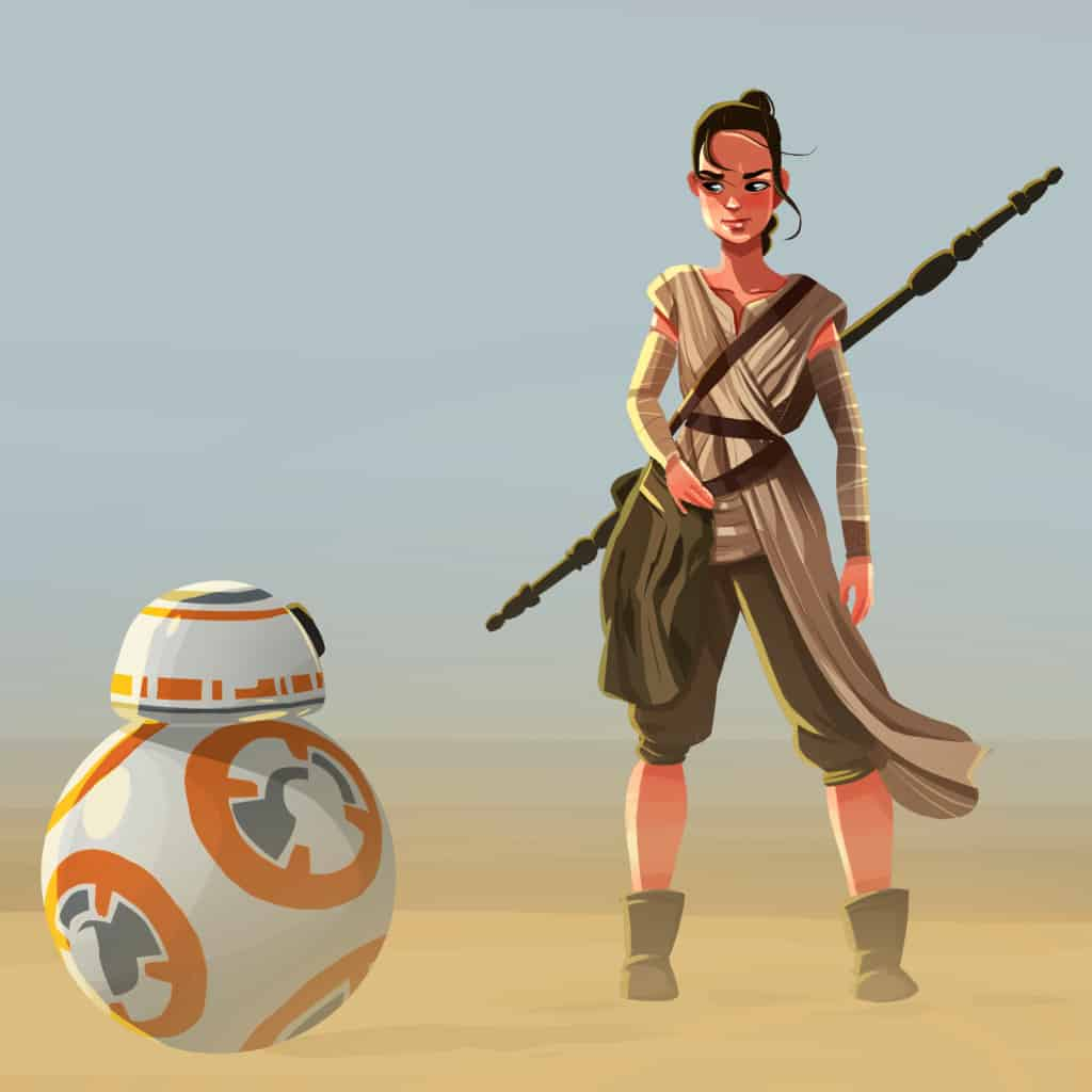Snarky, smart, beautiful and tough all in one breath. Totally a great icon for our little girls to look up to. Makes sense that we need a little Rey in our life for those little gals out there just learning their connection to the force. These 29 Rey Gift Ideas from Star Wars are your thought-starters for just that. #nerdymammablog #starwars #rey #gift #giftguide #gifts #starwarsgiftguide #reygifts #reygiftguide #reystartwars #starwarsrey