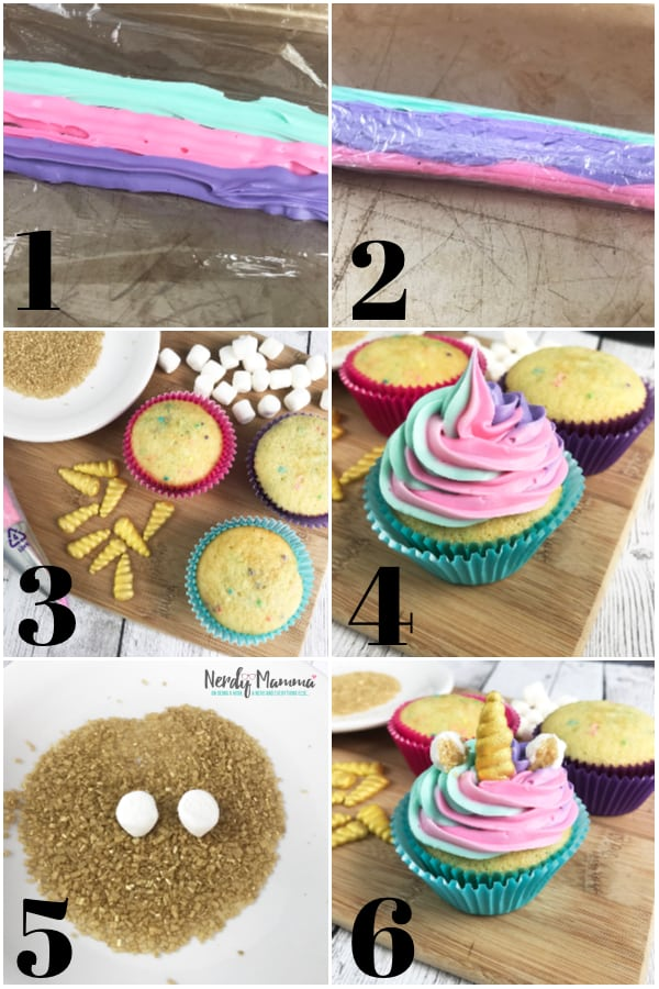 Ok. I'm going to go ahead and admit it, I'm a little unicorn obsessed. I like unicorn cookies and unicorn muddy buddies. I just like everything unicorn. In fact, I'm in love with these Unicorn Cupcakes. Good thing I also am in love with eating... #nerdymammablog #unicorn #unicornfood #unicorncupcake #unicorncupcakerecipe #recipe #cupcake #unicornparty #partyfood #party #unicornrecipe #cupcakerecipe