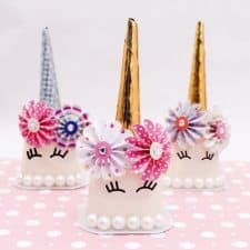 Unicorn Pudding Cups
