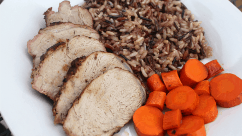 OMG! You've got to try this ridiculously easy grilled pork 30 minute meal! It's the perfect summer dinner and all done on the grill!