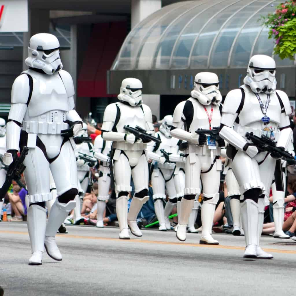 You ready for the Star Wars Vacation of your lifetime? I am. And I'm ready to deal with the crowds, too with these4 Hacks for Dealing with Crowds at Star Wars: Galaxy's Edge. You won't be sorry. #nerdymammablog #starwars #starwarsgalaxysedge #hacks #hack