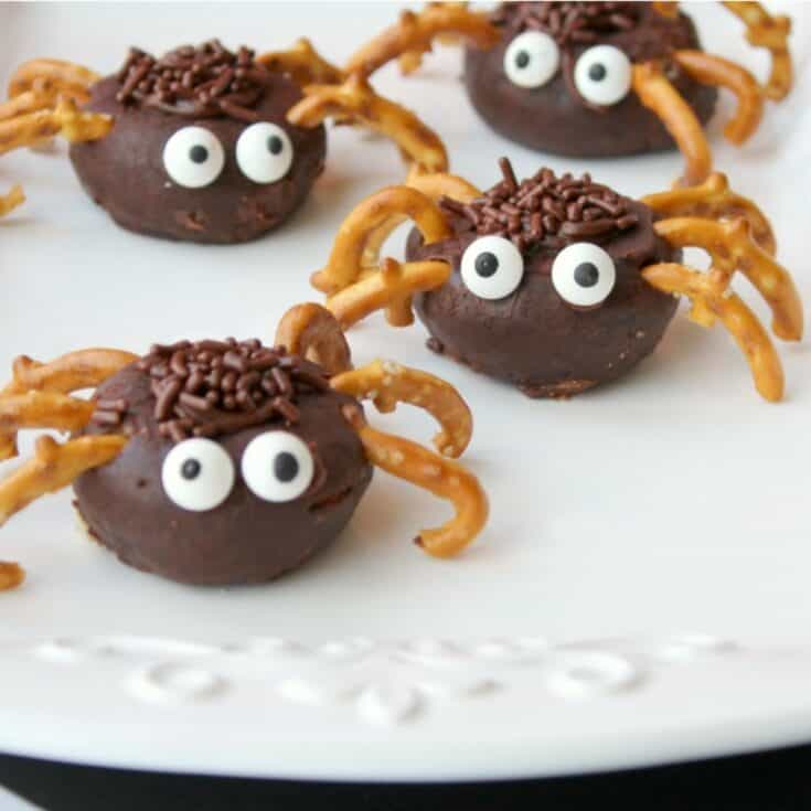 Mini Spider Donuts