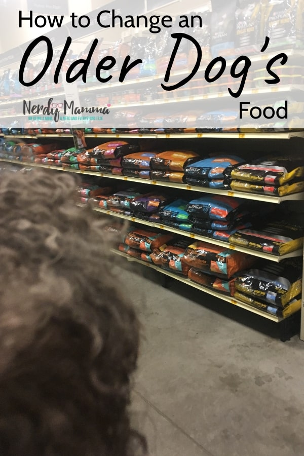 #ad When your dog get's older, they have different needs. To meet my doggo's needs, I'm switching to a new food. This is how to change an older dog's food. #FuelTheirPotential #CollectiveBias