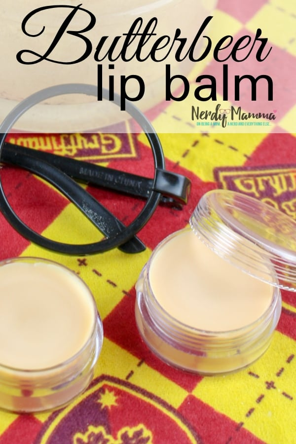 I got all excited the other day thinking that the Harry Potter series was all going to be available on Netflix. Then I found out that was only in France. So, I made a consolation prize for myself--some Butterbeer Lip Balm. #nerdymammablog #butterbeer #harrypotter #lipbalm